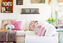 Home decor ideas / All things beautiful for the home - furniture, home design, colors, bedding, etc.