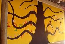 Décors - Fresques / Images pour la création d'une fresque de forêt dans un CDI.
