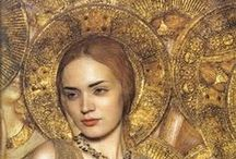Byzantine Chic / The art and culture of Italy mixed with the mosaics and iconography of the Byzantine.