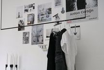 Bed // C L O S E T / Clothes Hangings, Displays, Wardrobes and all things Closeted.