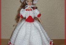 historic models II / historické modely na Barbie panenky- zakázková výroba