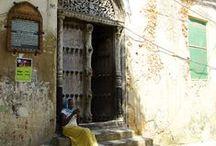 Doors Of Zanzibar / The traditional carved entrances that hark back to Zanzibar's affluent past.