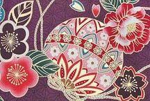 Japanese fabric/kimono/obi / All iteam are made by Japanese fabric, Kimono, Obi,