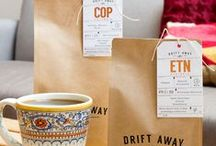 Coffee, Tea or ... / Add a special touch to your coffee or tea packaging, or any beverage bottle or bag, with a customized hang tag. Feature your logo, the price, or fun details on the tag.