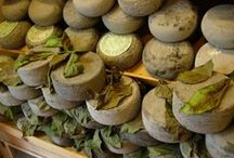 Udderly Italian / A wonderful way to see and savor Italy is through Italian cheese. Each regional variety reflects  each Alpine pasture, each field of wildflowers; the ash, leaves or hay used in ripening, the animals and artisans who make it.