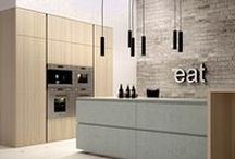Italian Kitchens / Now you know what pots and pans dream of.