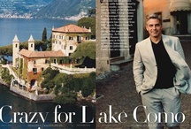 Como Where Elizabetta Scarves Come From / Lake Como, a gorgeous lake in the north of Italy with fabulous villas, gardens and villages. It's here where silk and other textiles are made for the scarves, ties and other accessories that Elizabetta buys for the boutique
