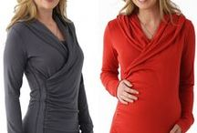 Nursing Fashions for Moms / Some gorgeous Breastfeeding fashions in rich colors at www.mommygear.com.