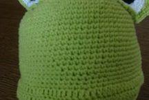 MY crocheting & knitting / My crafts
