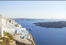Santorini, Greece / Santorini is beautiful not only with caldera view and architecture, but in the details too.