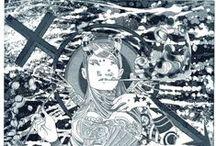 ilustrações Gravura em metal / Gravuras