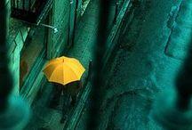 For Our Rainy/Sunny Days ☁ / So although I ❤ the rain, I like Umbrellas... And I don't like the Sun.
