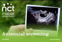 Antenatal screening and tests / You will be offered various antenatal screening and diagnostic tests during pregnancy. Find out what they can reveal about your health and the health of your baby here. #nct #antenatalscreening