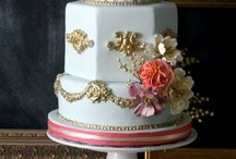 Beige, Coral & Antique Gold Wedding / by Frances O'Donnell