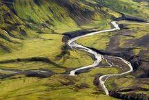 Island / Zajímavá místa Islandu
