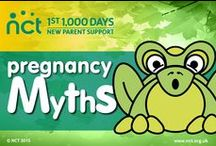 Pregnancy myths / We take a look at myths about pregnancy and reveal whether they are fact or fiction. #nct #pregnancymyths