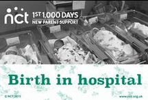 Giving birth in hospital / Thinking about giving birth in hospital? Find out more here.