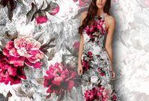 My Pattern Designs / Inspiration / Fashion fabric prints & #pattern design.