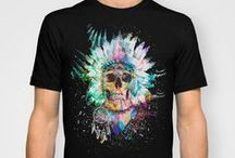 T-shirt designs on society6