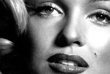 Marilyn + Old Hollywood / Hollywood vintage images. But mainly Marilyn Monroe pics, I LOVE her!