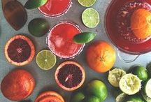 Citrus Oil & Vinegar / Lemon, Perisan Lime, Tangerine & Blood Orange