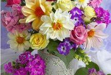 Virágok, csokrok
