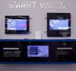 LCD-Türen / Unsere LCD-Tür Integrationen hinter Glas zb. für die Küche.