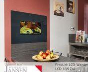 LCD-Kompaktmodule / Gestalten Sie Ihre Küche überraschend neu mit den SMART VISION Kompaktmodulen. Individuell für Sie angefertigt und passgenau eingebaut. Beziehen Sie Inhalte aus Internet und HD-TV in Ihren Küchenalltag ein.