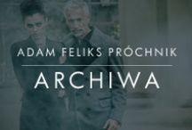 Archiwa / Archiwalne materiały stanowiące o historii marki Próchnik oraz będące świadectwem epoki, w której krystalizował się jej styl.