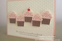 cards cupcake punch