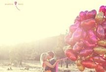 Inspiring Engagement Shoots / Capturing your love story is an art. Here are some amazing and inspiring engagement shoots.