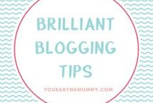 Brilliant Blogging Tips (Blogging + Entrepreneur) / Do you want to make a success of your blog? Give up work and blog full time? Then these are the tips to help you get the most from your blog