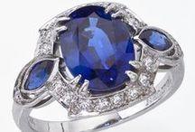 Sapphire / Magnificent sapphire jewelry