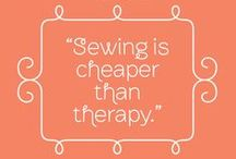 Quilting Quotables / Quotes, sayings and truisms about our favorite hobby.