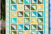 Fat Quarters Anonymous Patterns / Quilt patterns for people who are addicted to fat quarters, designed by Cozy Quilt Designs