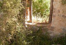 Abandoned villages / Deserted villages I've come across on walks