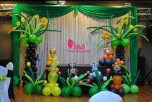 Jungle Animal Theme Decorations / Jungle Animal Theme Decorations