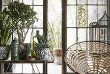 La déco de Léa / Branches, meubles en bois, bambous, plantes... toutes nos inspirations pour un style nature et authentique dans votre intérieur.