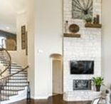 Inspiring Fireplaces- Landon Homes / Creative ways to spice up your fireplace area!