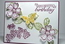 cards bithday blossoms
