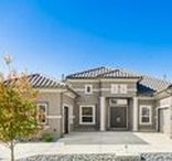 Stucco Exteriors- Landon Homes / Check out these amazing stucco exteriors! Made just for you by Landon Homes