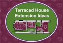 Terraced House Ground Floor Extension & Kitchen Extension Ideas / This board is all about showing you how to create a ground floor/kitchen extension in your terraced house. It's a mixture of how-to information blog posts as well as plenty of examples