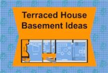 Terraced House Basement Ideas / This board is all about creating a basement underneath your terraced house.  Basements are the most expensive type of extension you can do but they are also have the biggest payoff due to them being the biggest type of extension you can do too.  It's a mixture of how-to blog content with lots of examples
