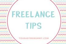 Freelance tips (Blogging + Entrepreneur) / Helping you to freelance like a rockstar