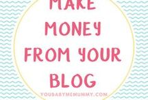 Make money from your blog (Blogging + Entrepreneur) / Move from hobby blogger to pro blogger