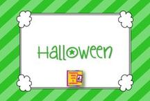 Fall/Halloween Fun in Kindergarten / Pumpkins, scarecrows, Halloween, Fall / by Carrie Cornwell
