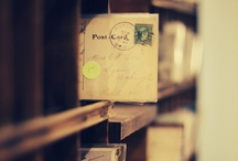 correspondence / who doesn't love an old-fashioned handwritten letter?