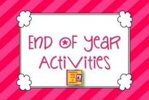End of the Year -Kindergarten / by Carrie Cornwell