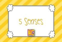 Five Senses Theme / by Carrie Cornwell