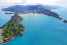 The Mu Koh Chang Marine Park & Other Islands / The Mu Koh Chang archipelago is a collection of over 50 glorious tropical islands in the Gulf of Thailand